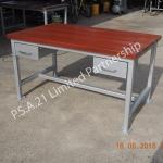 โต๊ะปฏิบัติงานไม้เนื้อแข็ง (HARDWOODS TABLE)